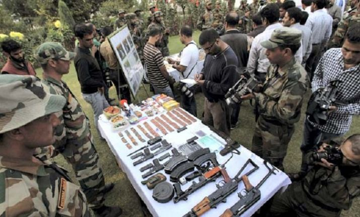 Police bust Militant Hideout in Kulgam; One arrested, Arms recovered our voice, we r india
