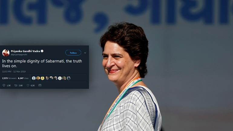 Priyanka Gandhi finally makes Twitter debut our voice, we r india