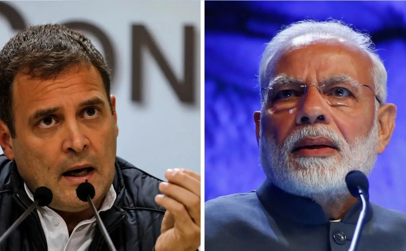 Rahul Gandhi elec promices to compite with modi promises,ourvoice, werIndia