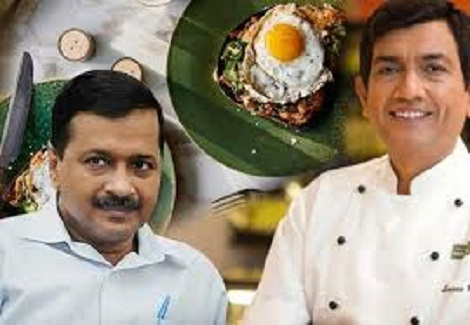 Sanjeev Kapoor's New 'Egg Kejriwal our voice, we r india