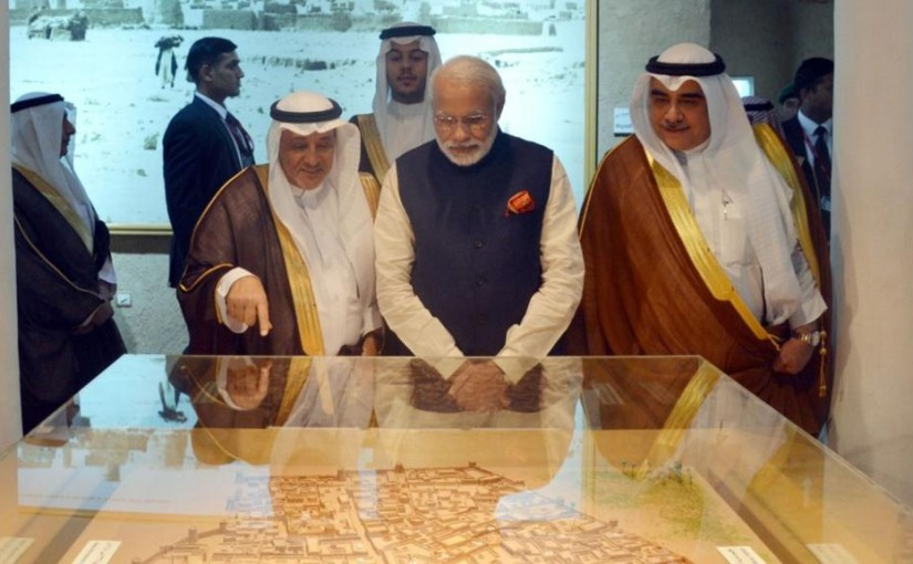 Saudi Arabia's Minister Of State For Foreign Affairs Meets Narendra Modi In India