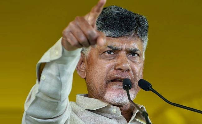Chandrababu Naidu tweets with hashtags against Modi