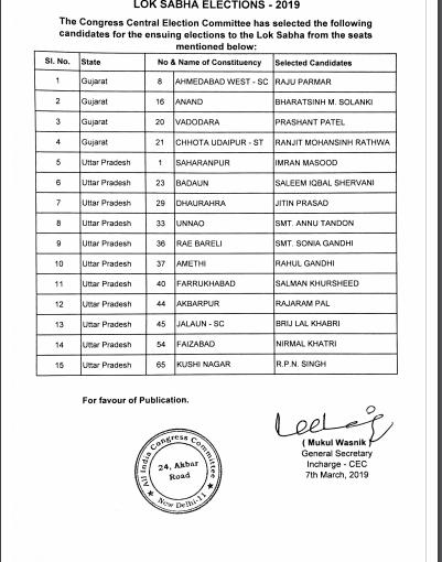 lok-sabha-congress-our voice-werindia