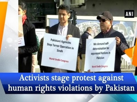 protest against human rights violations by Pakistan in Geneva our voice, we r india