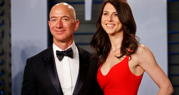Amazon Founder Jeff Bezos wife Mackenzie, ourvoice, werIndia