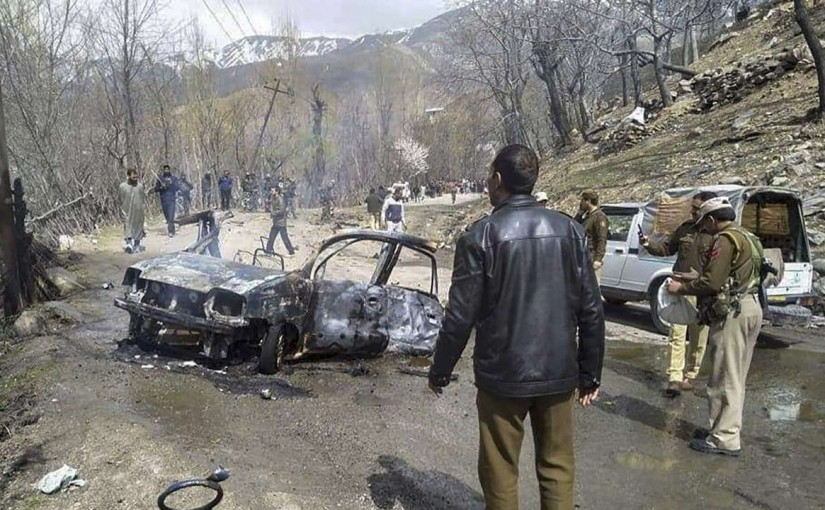 Banihal car blast accuse arrested, ourvoice, werIndia