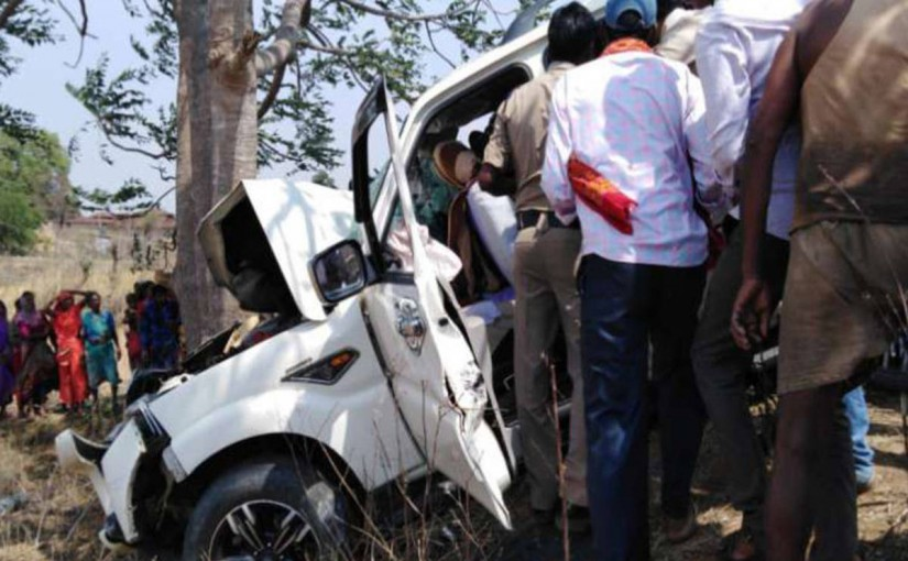 Chhattisgarh car accident polling officer death, ourvoice, werIndia
