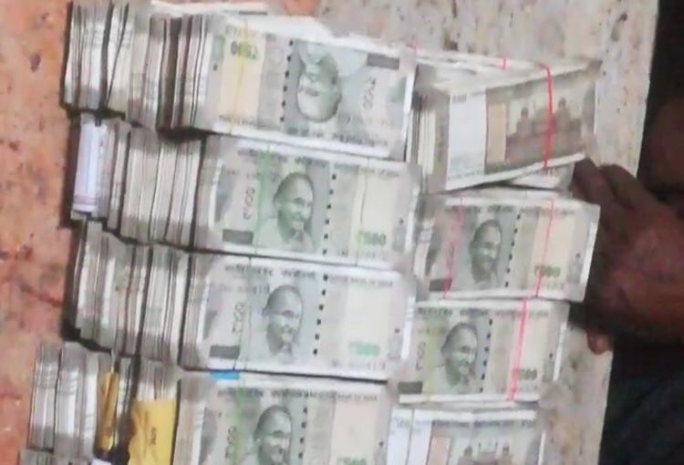 Election Commission Flying Squad officials have seized Rs 2.10 crore in cash near Perambalur, ourvoice, werIndia