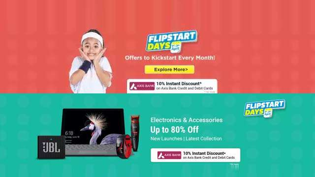 Flipstart day sale on flipkart, ourvoice, werIndia