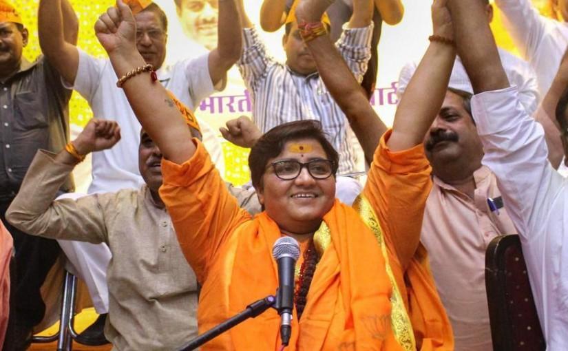 Hemant Karkare died due to 'karma', says Sadhvi Pragya Thakur