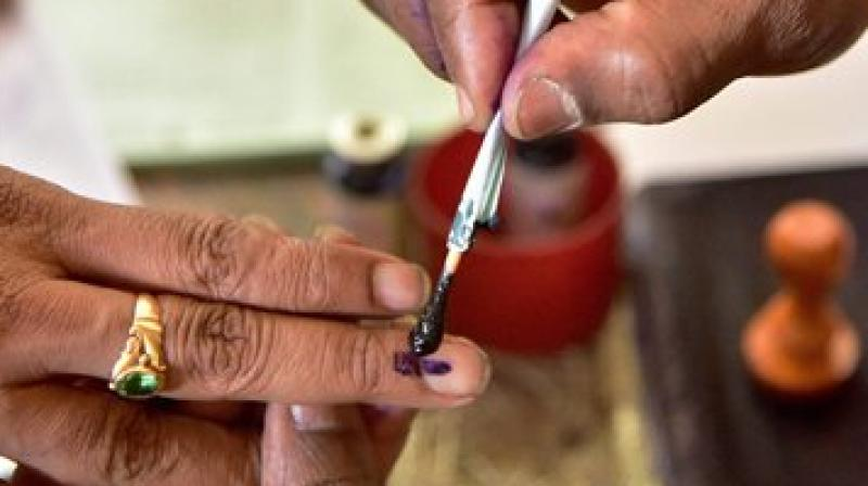'Indelible' ink actually 'delible' say voters on social media
