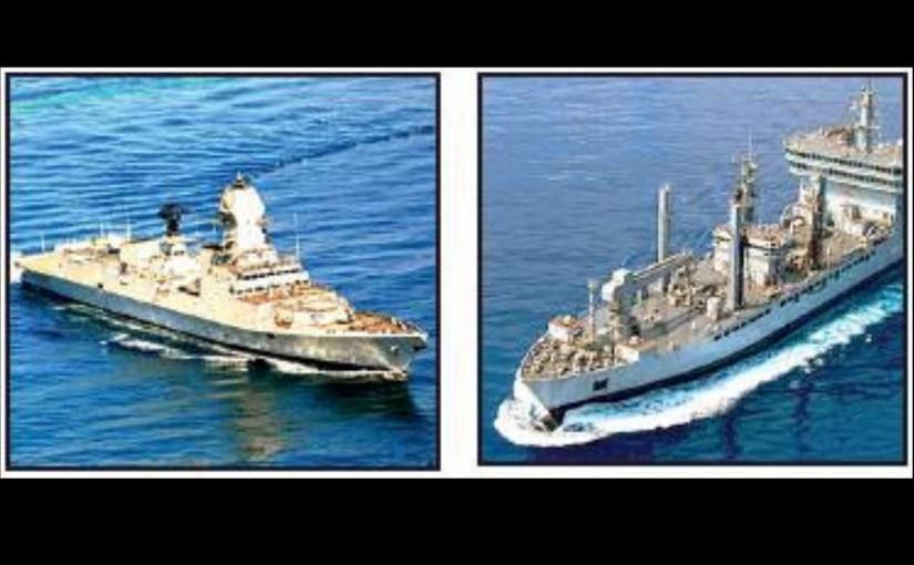 Indian navy ship kolkata and Shakti, ourvoice, werIndia