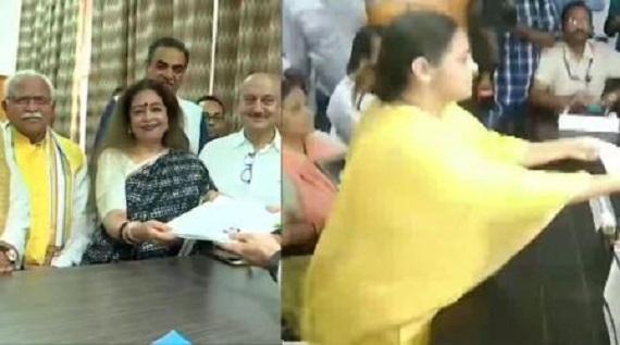 Kiran kher and misa bharti nomination, ourvoice, werIndia