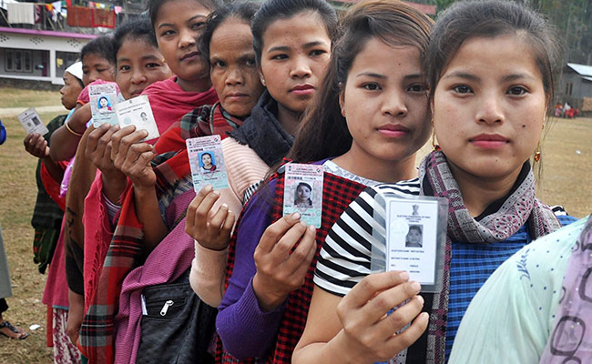 Peaceful Roll-UP of the Lok Sabha Polls in Meghalaya On The First Phase