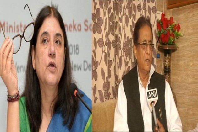 Lok Sabha elections 2019: EC bars Azam Khan from campaigning for 72 hours, Maneka Gandhi for 48 hours