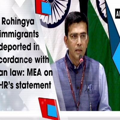 MEA on statement by experts under OCHR on Rohingyas, ourvoice, werIndia