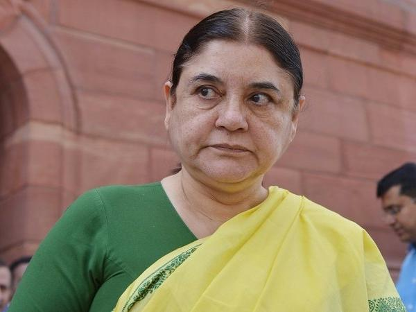 Maneka Gandhi targets BSP supremo Mayawati, accuses her of selling tickets