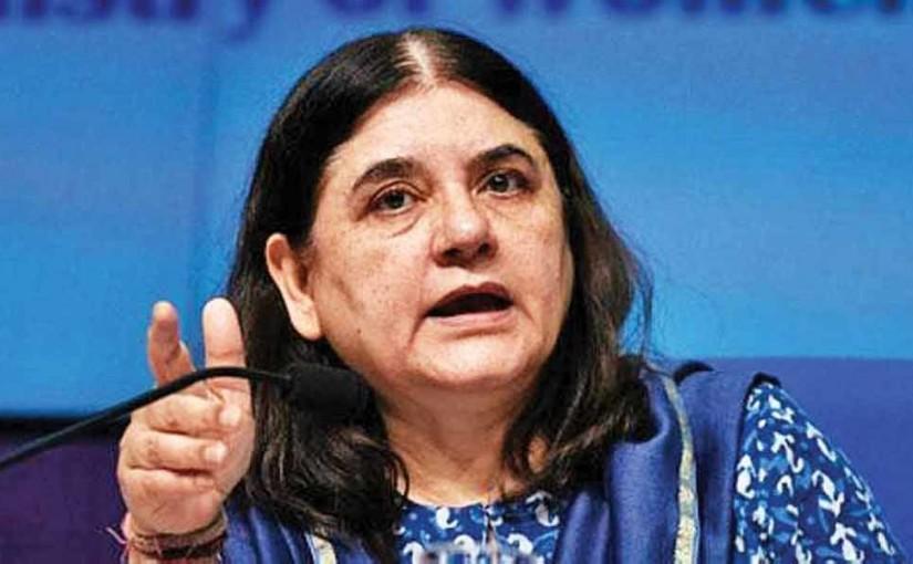 Menka Gandhi threatened Muslim voters, ourvoice, werIndia