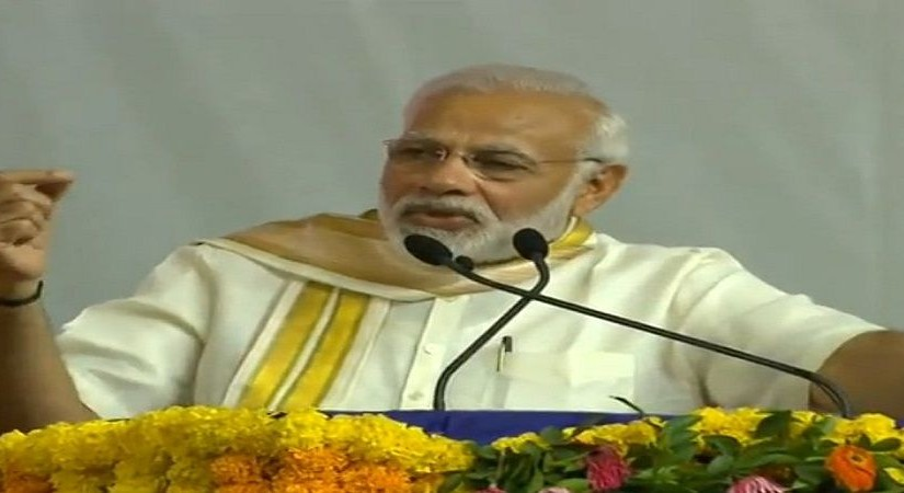 Pm modi attack on congress and talked about mahatma Gandhi, ourvoice, werIndia