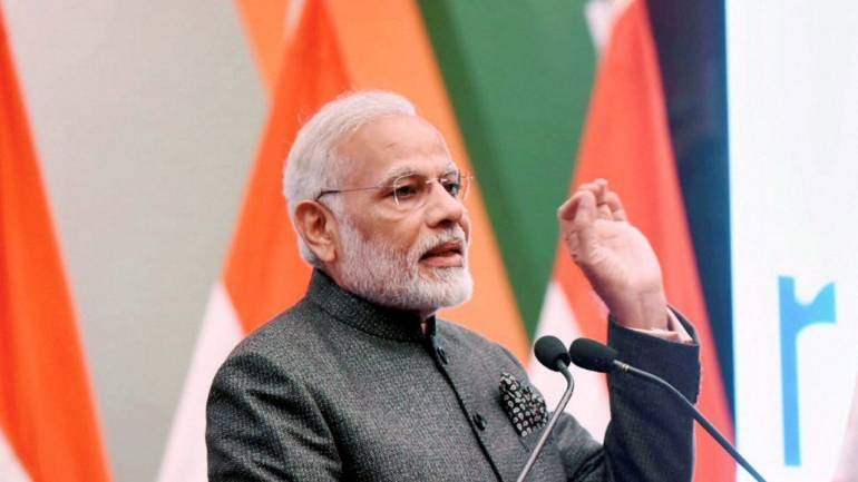 Pm modi in his speech, ourvoice, werIndia