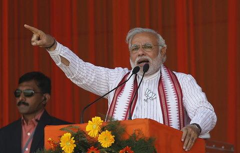 Pm modi speaks from up amroha , ourvoice, werIndia