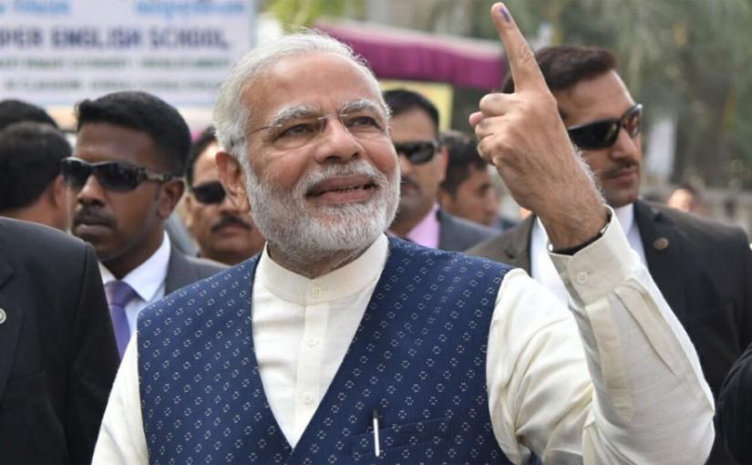 Pm modi will vote in Gujrat, ourvoice, werIndia