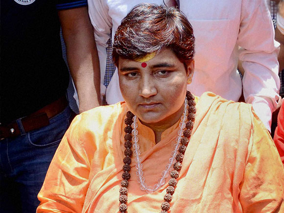 Pragya Thakur gets notice for Babri Masjid comments