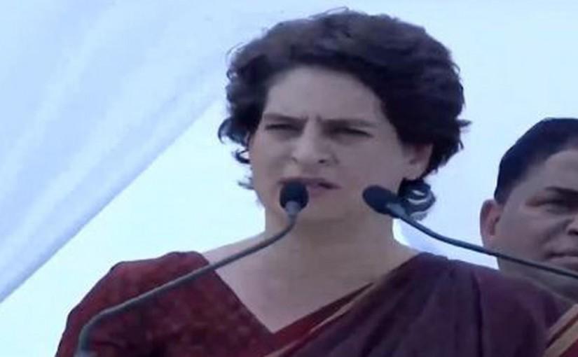Priyanka Gandhi on bjp nationlist, ourvoice, werIndia