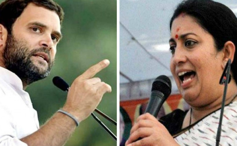 Smriti Irani,BJP To Contest Again From Amethi, UP In Lok Sabha Elections 2109