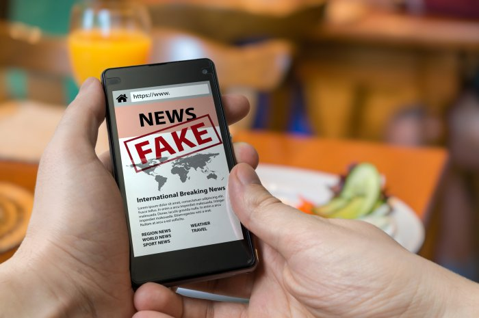 Social Media fake news filter to involve nodal officers