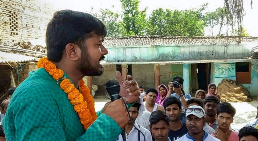 Supporters and protestors clash in Begusarai as Kanhaiya Kumar was met with 'unwelcoming' slogans