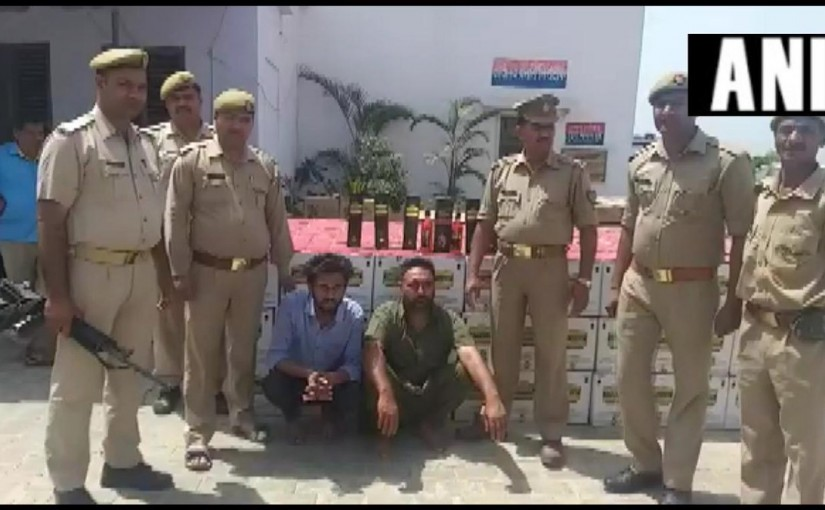 Up bulandsahar police sized illegal win, ourvoice, werIndia