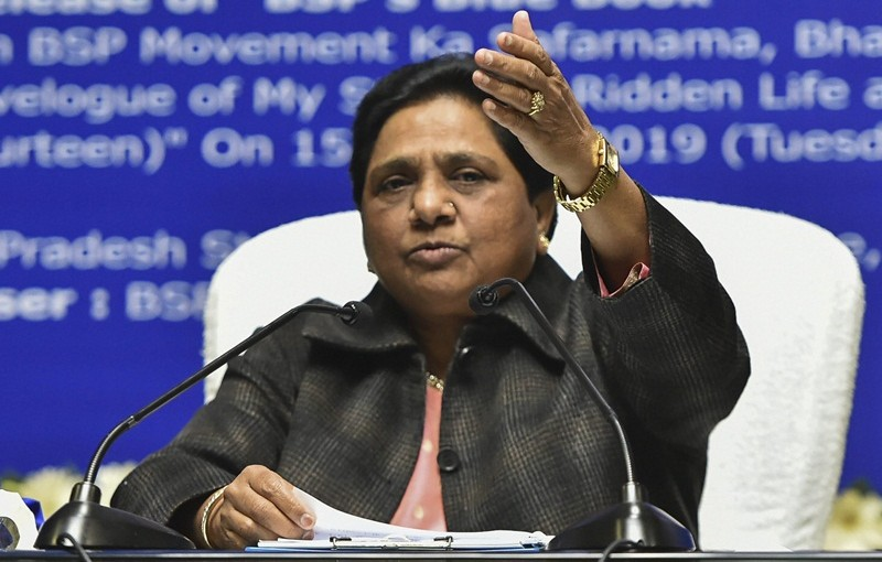 YES MAYAWATI JI, YOU REMEMBER DR. AMBEDKAR ONLY DURING ELECTIONS