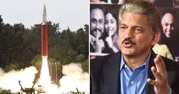anand mahindra blasts nasa comments on anti satellite test asat test