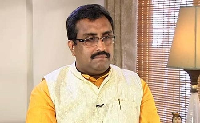 bjp general secretary ram madhav asks pak pm imran khan to stay away from indian elections
