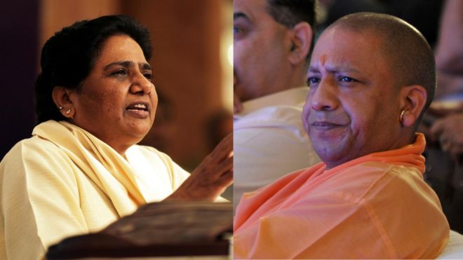 ec censures cm yogi adityanath and mayawati for communal remarks