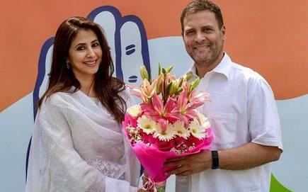 hinduism has become most violent of them all urmila matondkar jumps on anti hindu brigade after joining congress