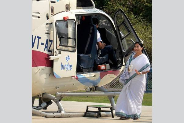 mamata banerjee's chopper loses its way while campaign enquiry ordered