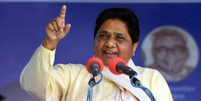 mayawati gets no reprieve from ban supreme court satisfied with action taken by ec