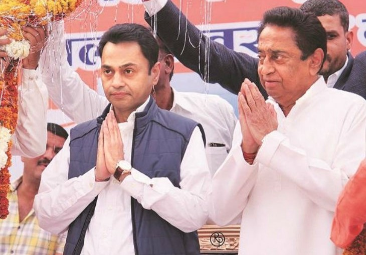 nakulnath is 5 times rich than his father kamalnath has assets worth over 660 crore