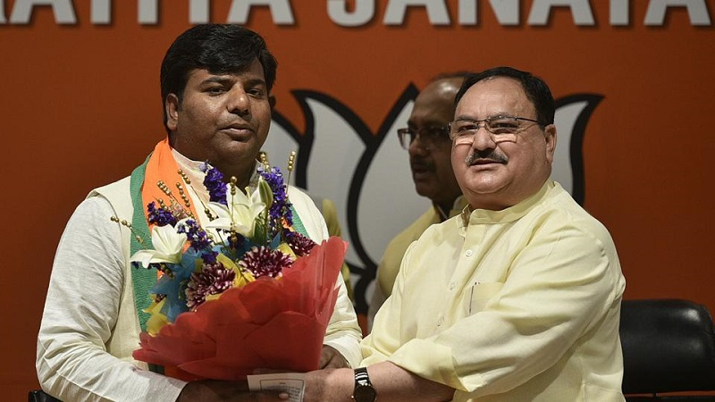 Gorakhpur MP from SP Praveen Nishad Joins BJP