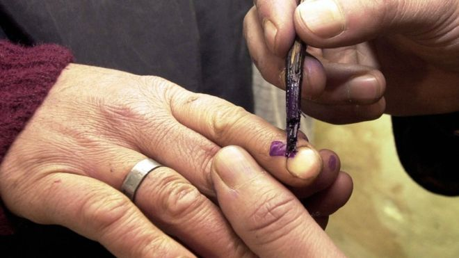 voting for second phase at 95 seats of 11 states for national polls