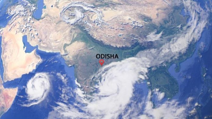 A powerful cyclonic storm named Fani, ourvoice, werIndia