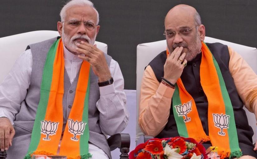 Pm modi and amit sah election commission, ourvoice, werIndia