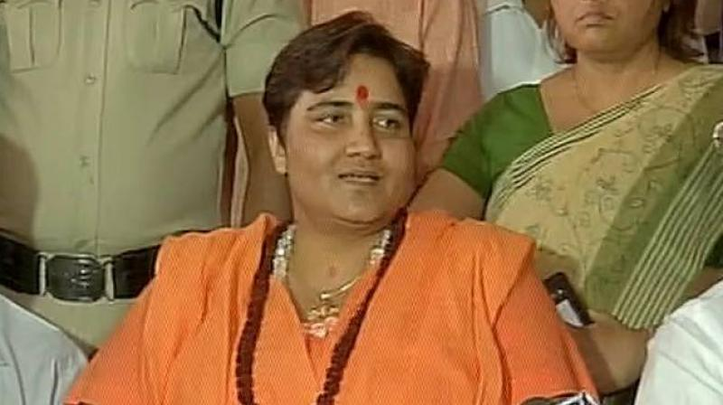 Pragya Thakur restricted to do election camp, ourvoice, werIndia