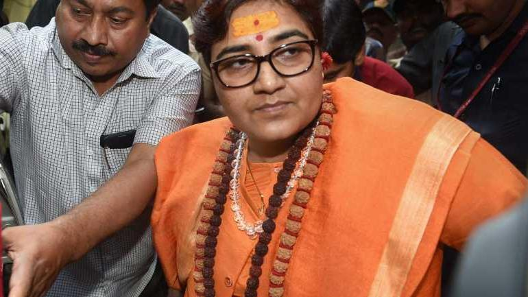 EC orders 72 hour ban on Sadhvi Pragya's campaign owing to controversial remarks