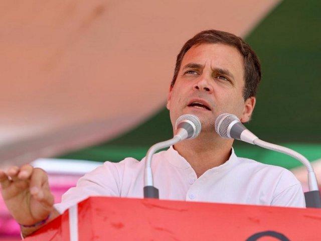 Rahul Gandhi says PM Modi cannot pressurize Congress but it can control SP-BSP