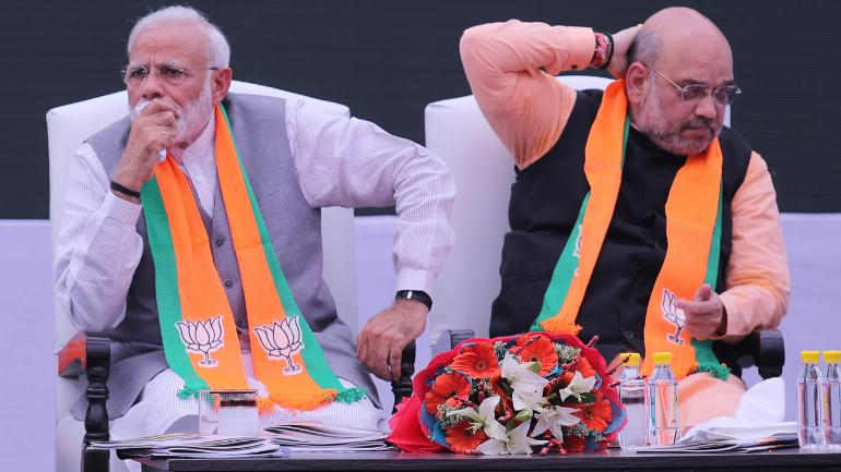 Nine Cases Filed On Narendra Modi And Amit Shah To Violation Of Model Code Of Conduct