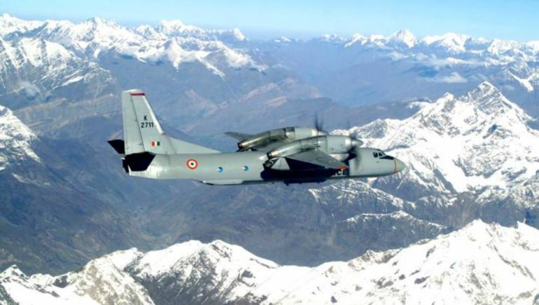 Indian Air Force Launched Helicopters As 13 Aircraft Passengers Missing Aircraft-AN 32 Flying To Arunachal Pradesh