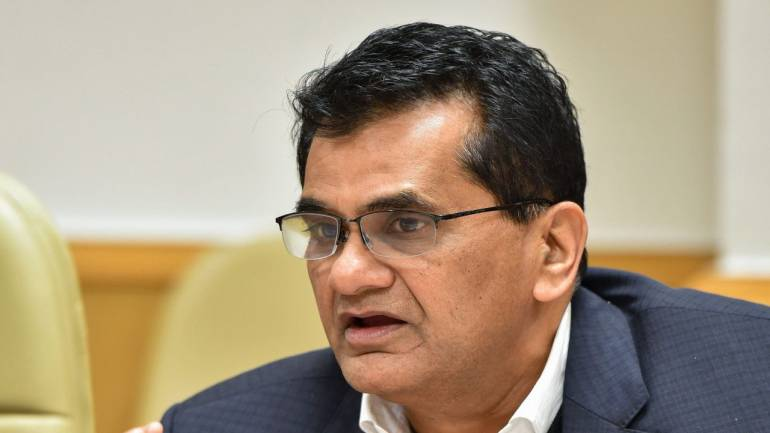 Amitabh Kant to continue as NITI Aayog CEO for 2 more years